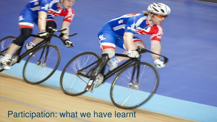Participation: what we have learnt