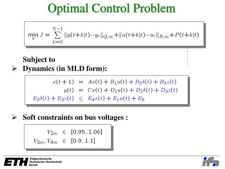 Optimal Control Problem