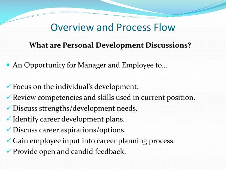 Overview and process flow