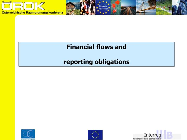 Financial flows and
