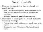 control hazards 3