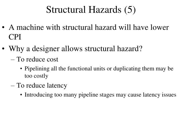 Structural Hazards (5)