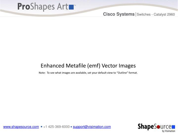 Enhanced Metafile (emf) Vector Images