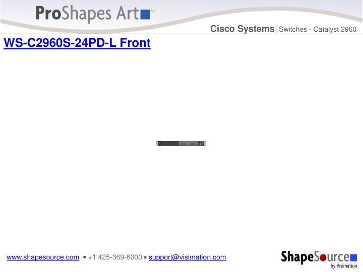 WS-C2960S-24PD-L Front