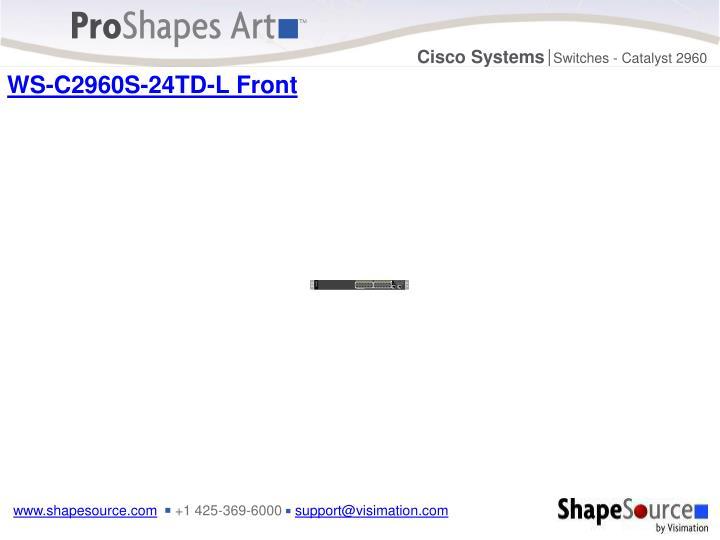 WS-C2960S-24TD-L Front