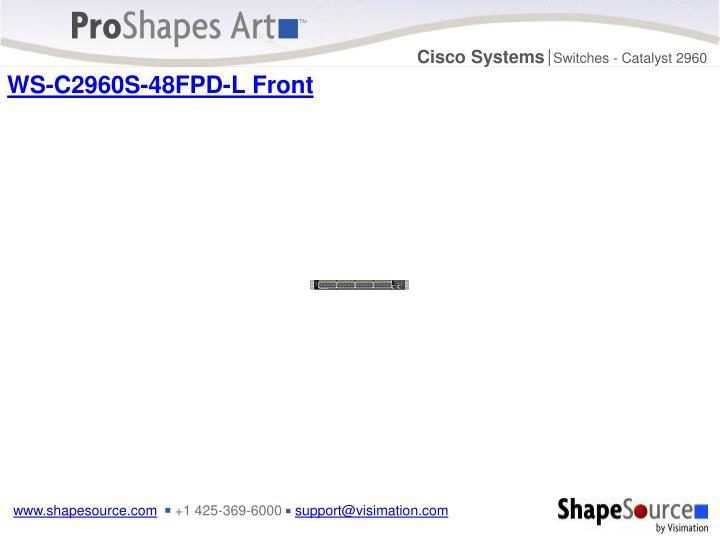 WS-C2960S-48FPD-L Front