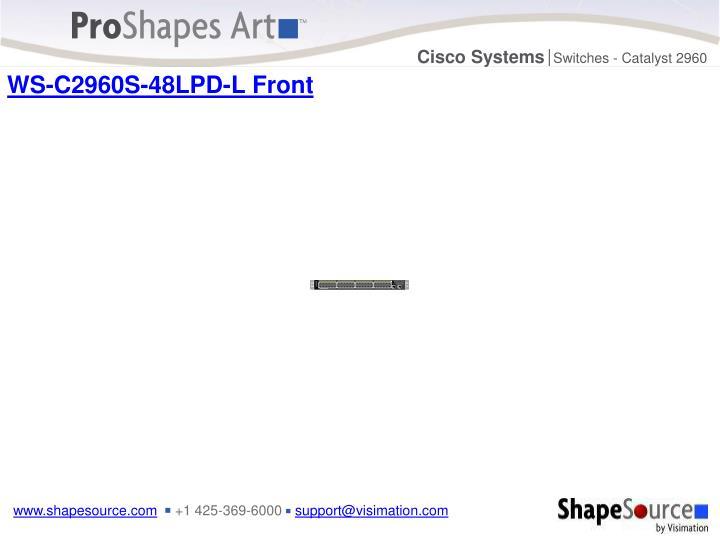 WS-C2960S-48LPD-L Front