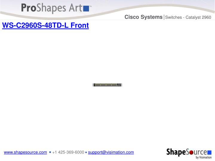 WS-C2960S-48TD-L Front