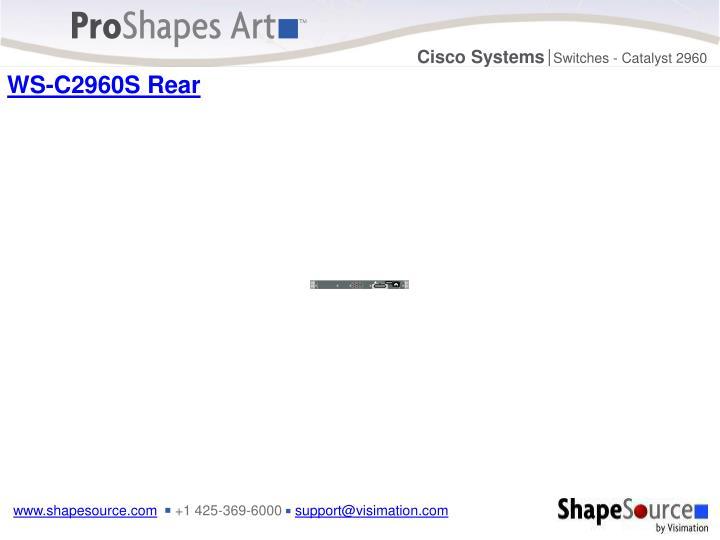 WS-C2960S Rear