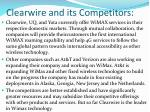 clearwire and its competitors2