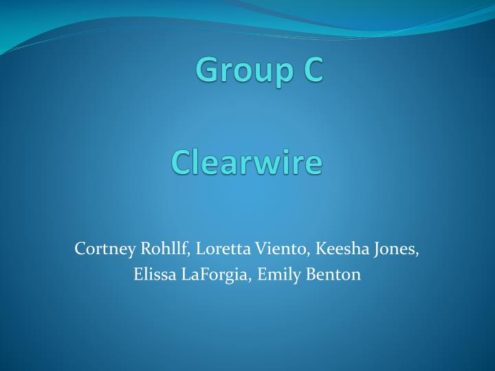 Group c clearwire