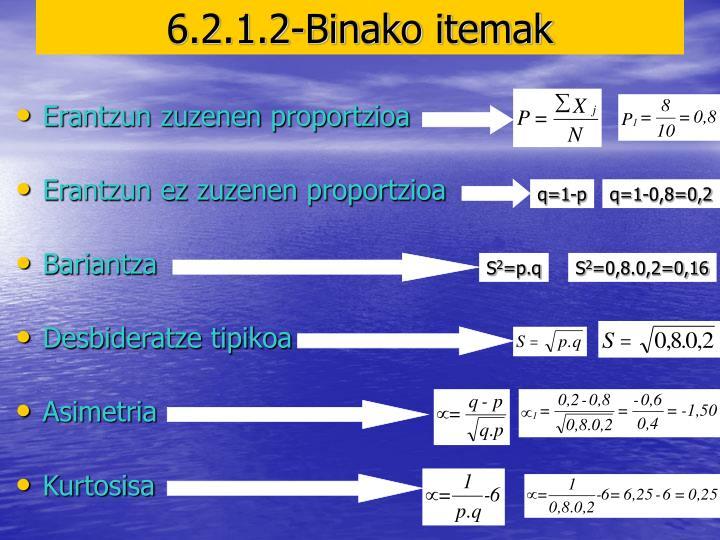 q=1-p