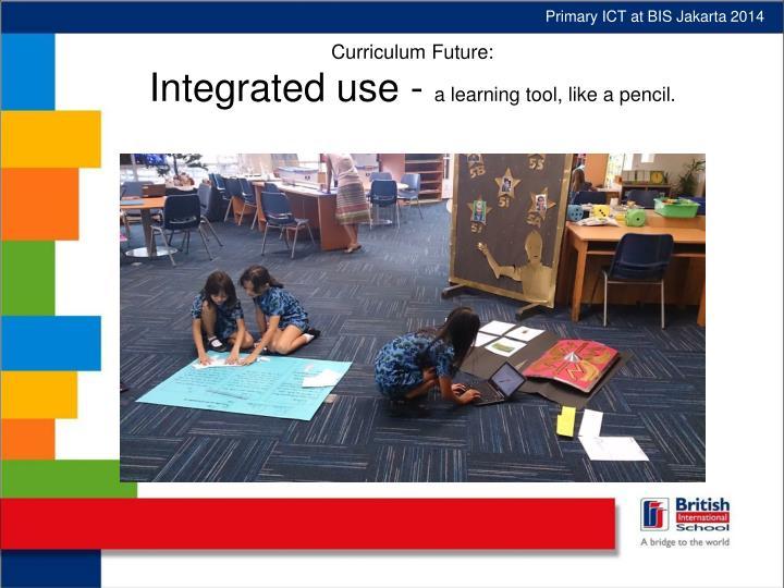 Primary ICT at BIS Jakarta 2014
