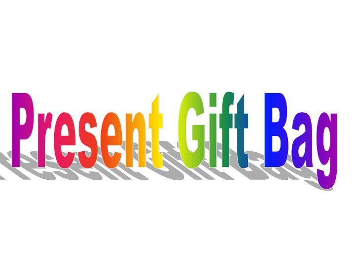 Present Gift Bag