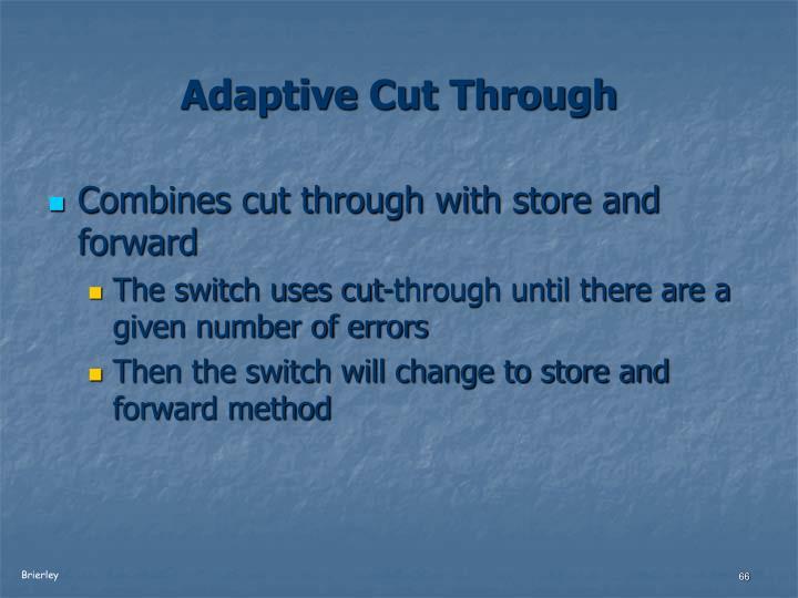 Adaptive Cut Through