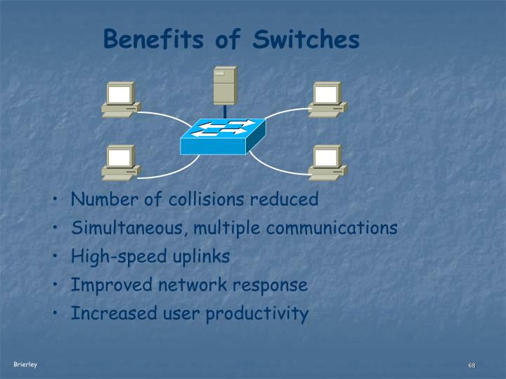 Benefits of Switches