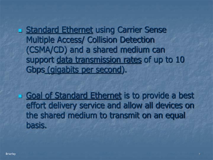Standard Ethernet