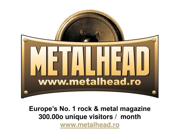 Europe's No. 1 rock & metal magazine