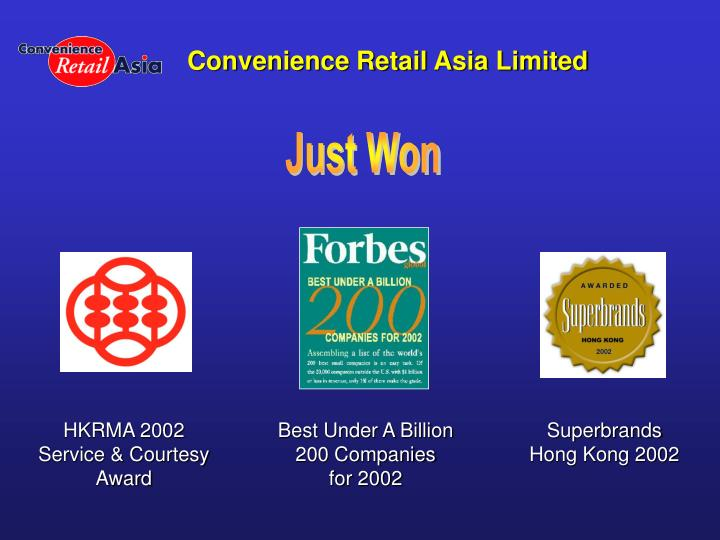 Convenience Retail Asia Limited