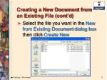 creating a new document from an existing file cont d3