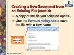 creating a new document from an existing file cont d4