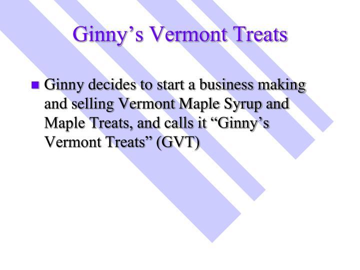 Ginny's Vermont Treats