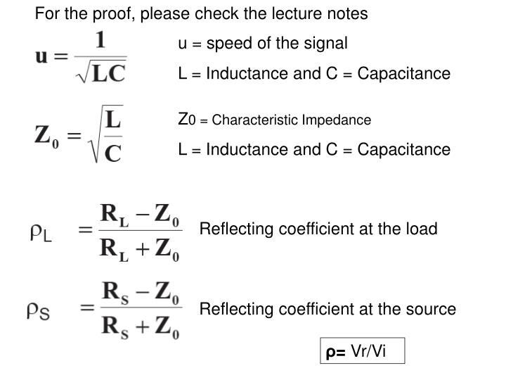 For the proof, please check the lecture notes