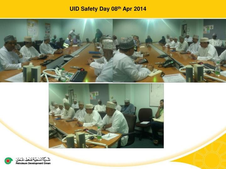 UID Safety Day 08