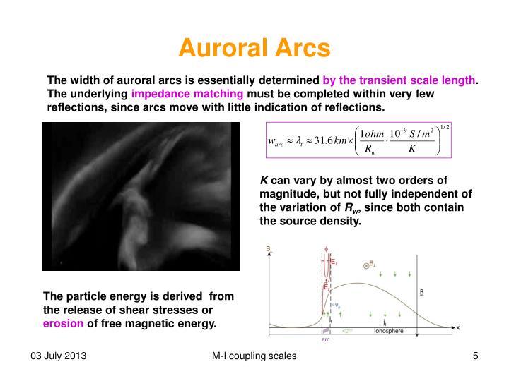 Auroral Arcs