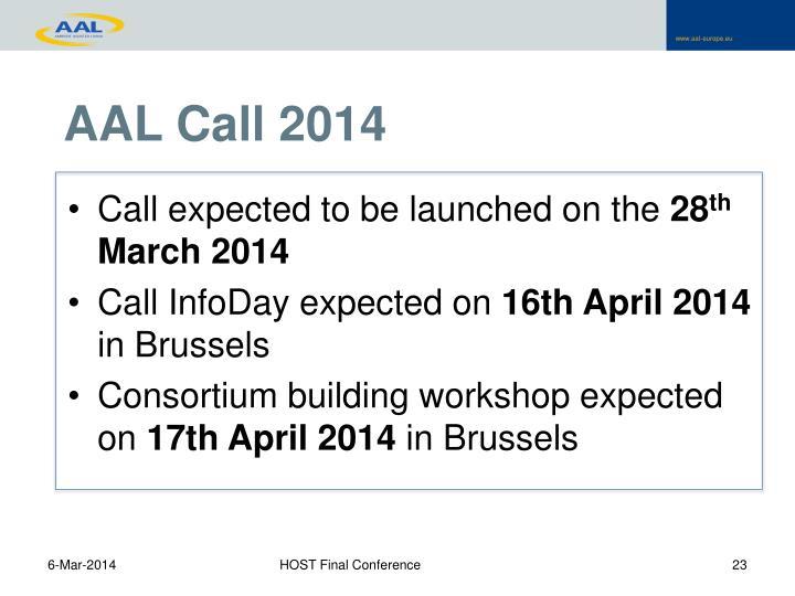 AAL Call 2014