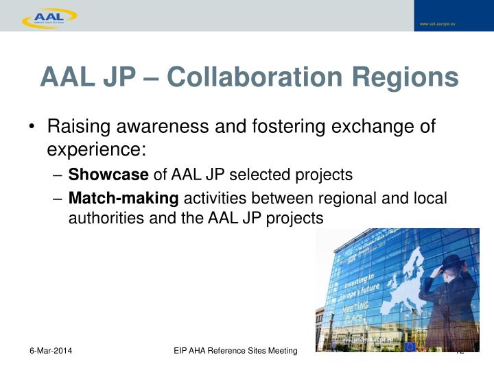 AAL JP – Collaboration Regions