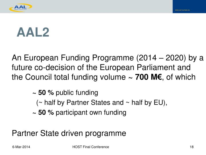 An European Funding