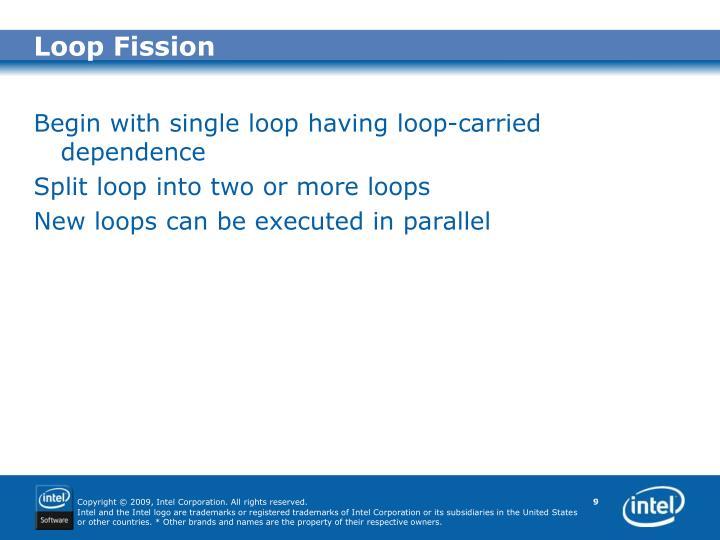Loop Fission