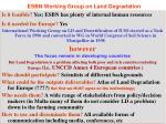 esbn working group on land degradation1