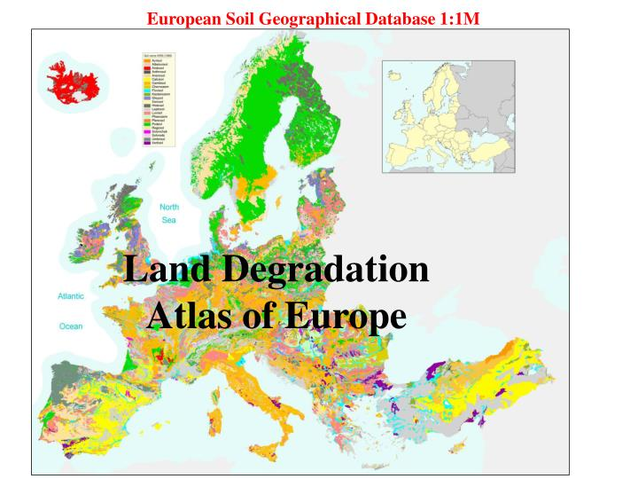 European Soil Geographical Database 1:1M