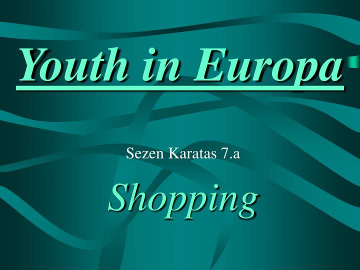youth in europa