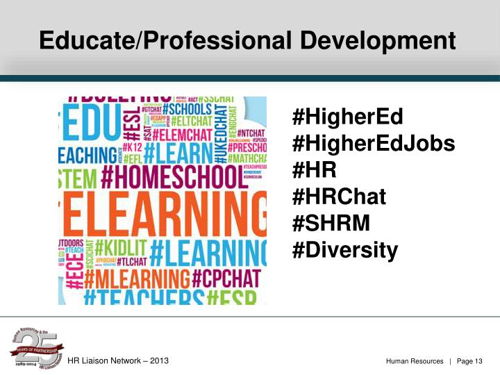 Educate/Professional Development