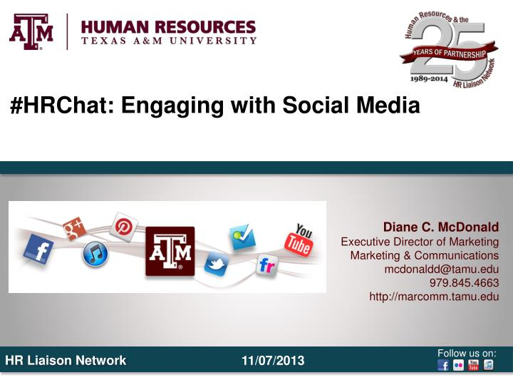 #HRChat: Engaging with Social Media