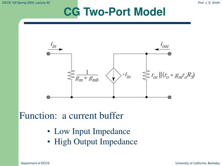 CG Two-Port Model