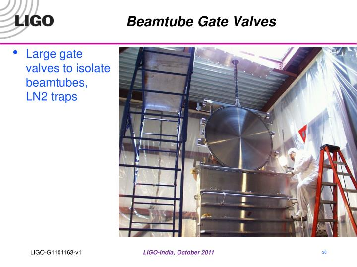Beamtube Gate Valves