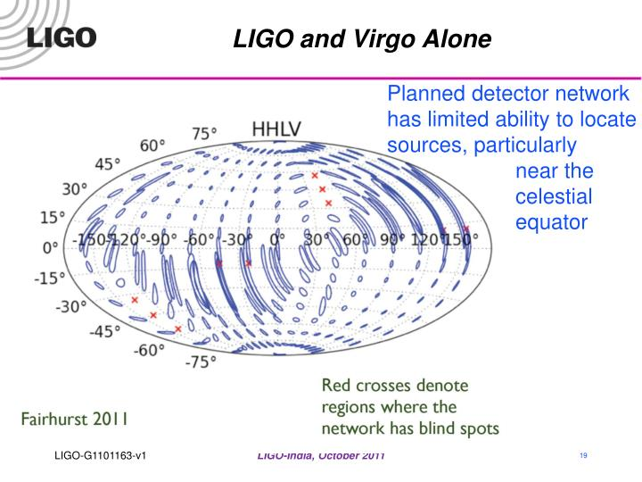 LIGO and Virgo Alone