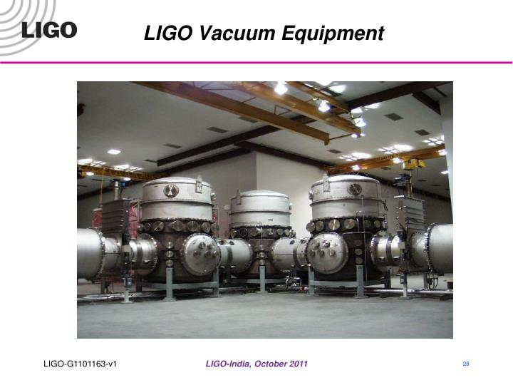 LIGO Vacuum Equipment