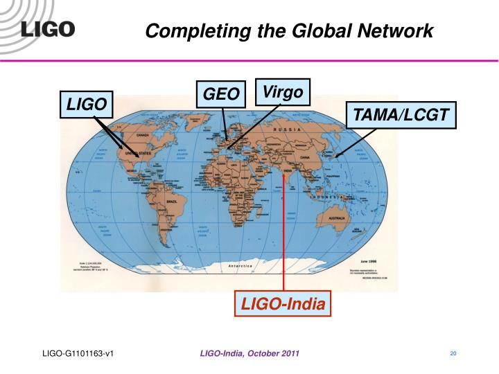 Completing the Global Network