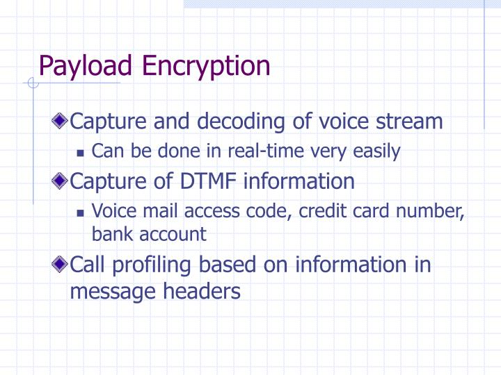 Payload Encryption