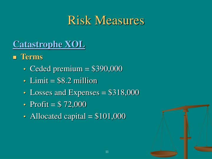 Risk Measures