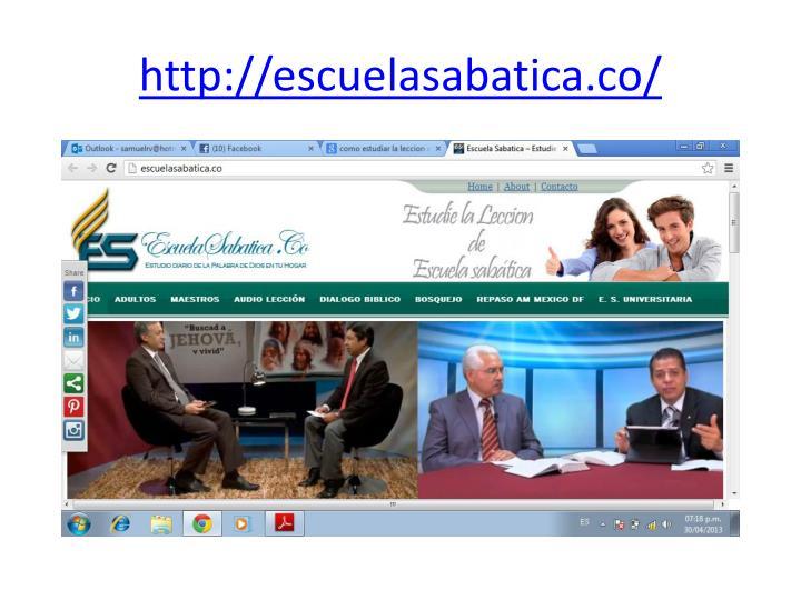 http://escuelasabatica.co