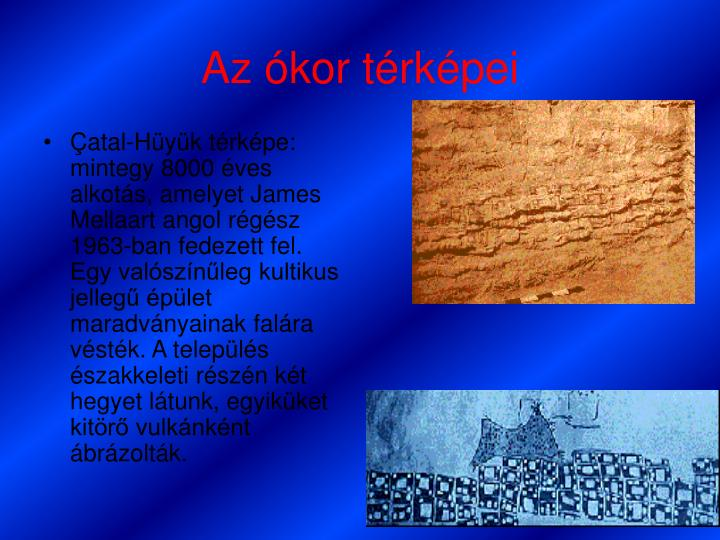 Az ókor térképei