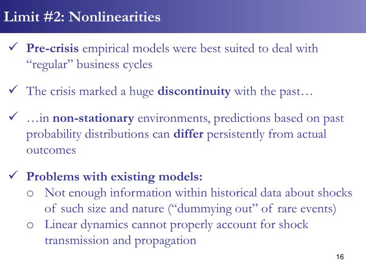 Limit #2: Nonlinearities
