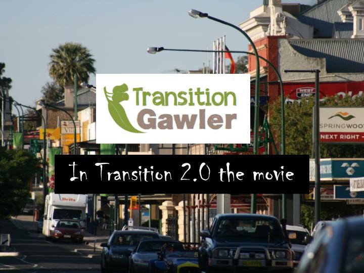 In Transition 2.0 the movie
