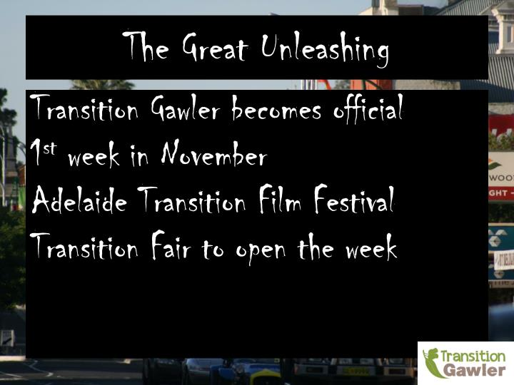The Great Unleashing